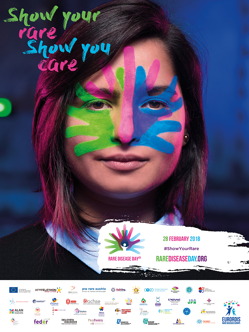Rare Disease Day Poster 2018