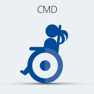 Raxone in congenital muscular dystrophy (CMD)